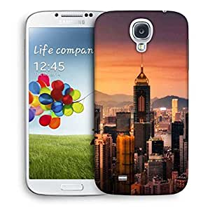 Snoogg Tall Buildings Designer Protective Phone Back Case Cover For Samsung Galaxy S4