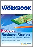 img - for AQA AS Business Studies: Workbook Unit 1 book / textbook / text book