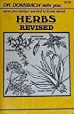 Herbs: Revised (Dr. Donsbach Tells You, Series)