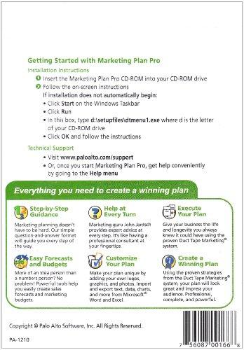 Business plan pro palo alto