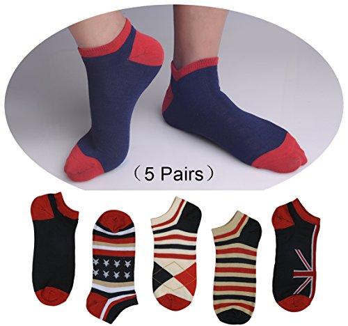 CXSocks Mens Cool Socks Best Cotton Cool Socks For Men (5 Pair) (College Girl Halloween Pics)