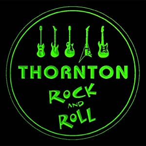 4x ccqp2263-g THORNTON Guitar Weapon Rock & Roll Bar Beer 3D Drink Coasters