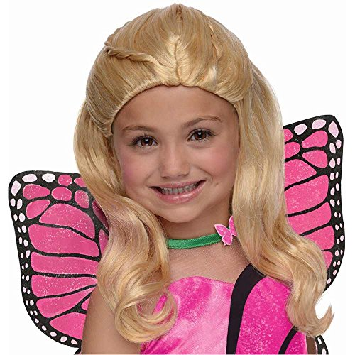 Kids Barbie Mariposa Wig - One Size