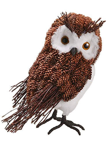 allstate-modern-lodge-decorative-rustic-pine-cone-owl-christmas-table-top-figure-105