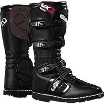 MSR VX1 ATV Boots , Primary Color: Black, Size: 8, Distinct Name: Black, Gender: Mens/Unisex 339189