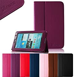 Fintie (Purple) Slim Fit Folio Case Cover for Samsung Galaxy Tab 2 7.0 -Multiple Color Options