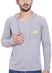 Jangoboy Men's Regular Fit Sweatshirt (F4U-15_Xl, Grey, Xl)