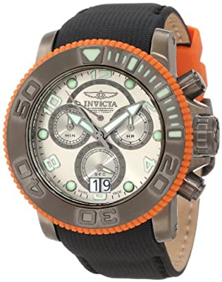 Invicta Men's 10714 Sea Hunter Chronograph Silver Grey Dial Watch