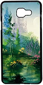FCS Printed 2D Designer Hard Back Case For Samsung Galaxy A7 (2016) Design-10439