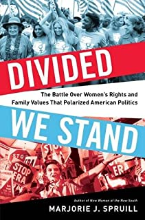 Book Cover: Divided We Stand: The Battle Over Women's Rights and Family Values That Polarized American Politics