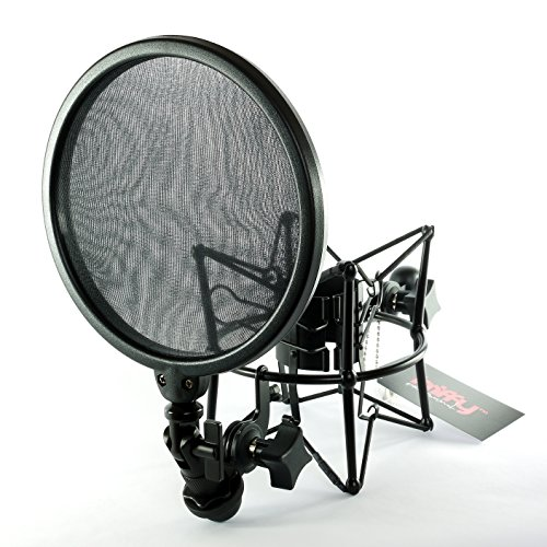hiffy-mp-pro-g-microphone-shock-mount-with-large-dual-mesh-pop-filter