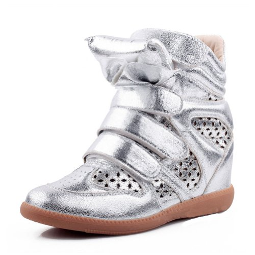 BattleFire Magic Sticks Sports Celebrity Shoes Snow Boots Winter Boot Silver Size 4 B(M) US/35 EUR/2 B(M) UK/22.0CM Length Picture