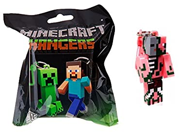 Official Minecraft Exclusive ZOMBIE PIGMAN Action Figure Hanger Series #1 from Mojang