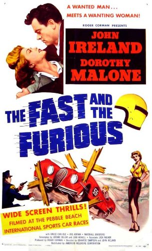 The Fast and the Furious 1955 Amazon Poster