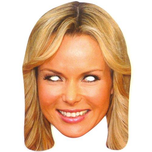 Mka Amanda Holden Fancy Dress Mask - 1