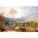Hornby Castle from Tatham Church, by J.M.W. Turner (Print On Demand)