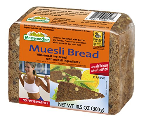 Mestemacher Bread, Muesli, 10.5 Ounce (Pack of 9) (Mestemacher Rye Bread With Muesli compare prices)