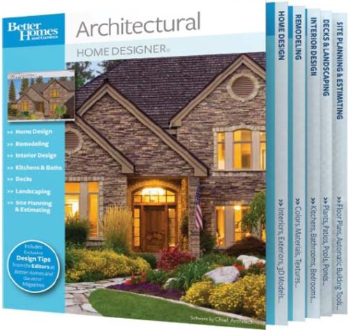 Better Homes and Gardens Architectural Home Designer
