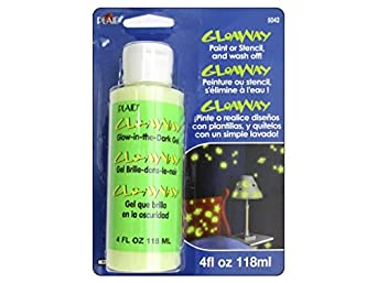 glo away washable acrylic paint glow in the dark 4 oz bottle. Black Bedroom Furniture Sets. Home Design Ideas
