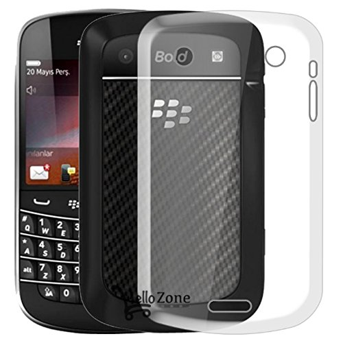 Hello Zone Exclusive Soft Transparent Crystal Clear Back Cover Back Case Cover For BlackBerry 9900  available at amazon for Rs.149