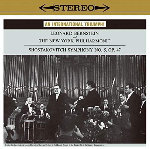 SACD : BERNSTEIN,LEONARD - Shostakovich: Symphony 5 (Hybrid SACD, Japan - Import)