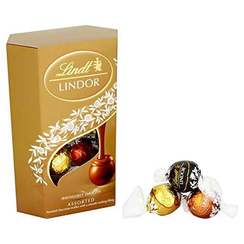 Lindt Lindor assortis truffes au chocolat 200g