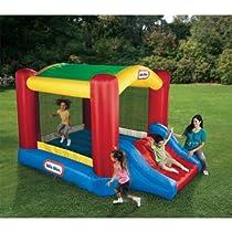 Big Sale Best Cheap Deals Little Tikes Shady Jump n Slide Bouncer