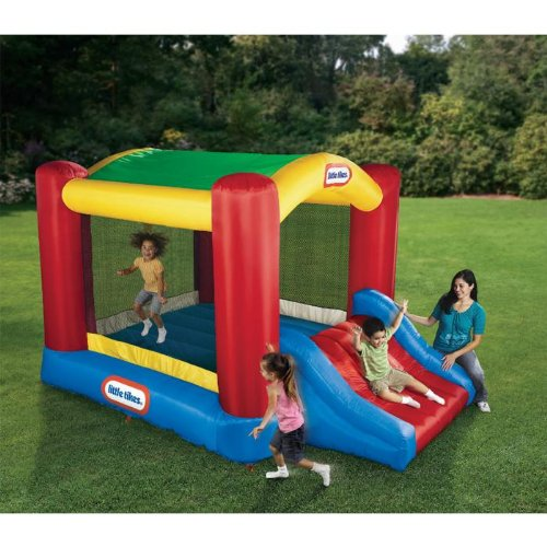 Learn More About Little Tikes Shady Jump n Slide Bouncer