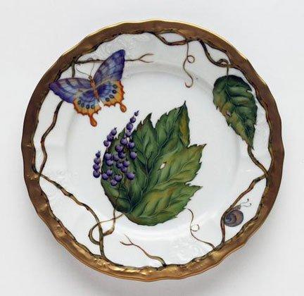 цена Anna Weatherley Wildberries Lavender Salad Plate 7.5 in онлайн в 2017 году