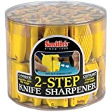 Smith Abrasives Inc 2 Step Knife Sharpener (Pack Of 24) Knife Sharpener Pocket