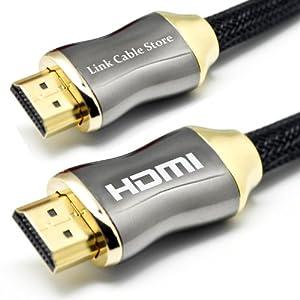 LCS - ORION - 1M - HDMI 1.4 - PROFESIONAL - 3D - Alta velocidad con Ethernet - FULL HD 1080p - Digital Cinema 4K - Conectores chapados en oro