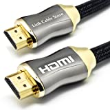 LCS - ORION - 2M - Cble HDMI 1.4 - PROFESSIONNEL - 3D - ULTRA SPEED SERIE - FULL HD 1080p - Format cinma numrique 4k x 2k - ETHERNET - Optimis pour tous les ecrans HD LCD LED PLASMA - Connecteurs plaqus orpar Link Cable Store