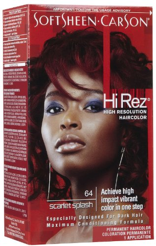 Hi Rez Permanent Hair Color Scarlet Splash