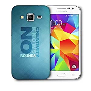 Snoogg Creativity Knows Bound Printed Protective Phone Back Case Cover For Samsung Galaxy CORE PRIME