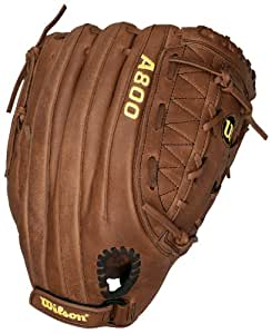 Wilson A800 SP13 Game Ready Soft Fit Fielder's Throw Slow Pitch Glove (Right Hand, 13-Inch)