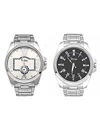 Veens Multicolor Dial Combo Pack Of 2 Boys/Gents/Mens Wrist Watch DW1086 Al