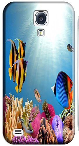 Top Quality Phone Accessories Under Sea World Beautiful Colorful Fishs Clean Water Special Design Cell Phone Cases Covers For Samsung Galaxy S4 I9500 No.14