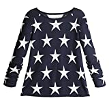 Women's You're A Star Navy Blue Cotton Sweater
