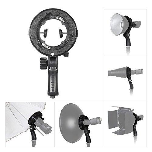 Andoer TR-05 Bowens Bracket d'adaptateur pour griffe porte-flash support de caméra pour Flash de Studio photographie