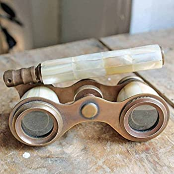 Brass Binocular Mother of Pearl - Antique Opera Binocular By NauticalMart