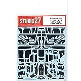 STUDIO27 1/24スケール マクラーレン F1 GTR ロングテイル A社用 カーボンデカール 3枚組