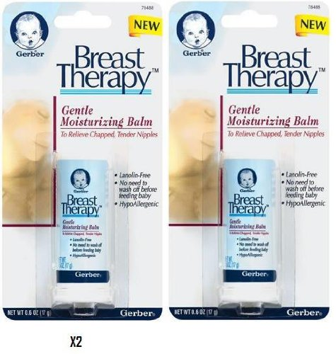 Gerber Breast Therapy Gentle Moisturizing Balm 2 Pack - 1