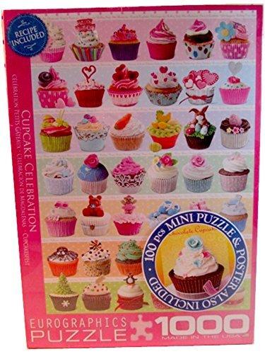 Cupcake Celebration 1000 Piece Puzzle