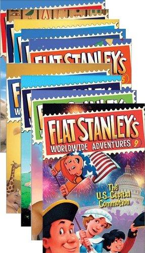 Flat Stanley's Worldwide Adventures, Books 1-9 PDF