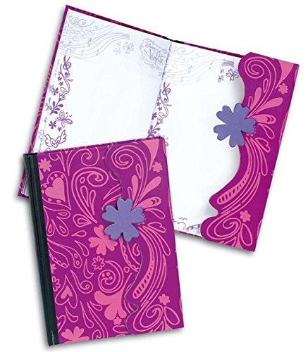 Как сделать дневник виолетты из бумаги