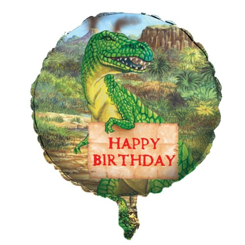 "18"" Dinosaur Birthday Balloon"