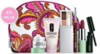 Clinique Skincare and Makeup Gift Set with 7 Daily Essentials (A $70 Value)