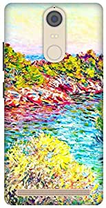 The Racoon Lean The Landscape near Montecarlo hard plastic printed back case/cover for Lenovo K5 Note