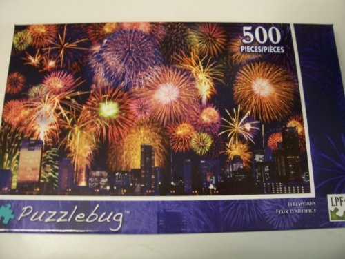 Puzzlebug 500 Piece Puzzle ~ Fireworks - 1