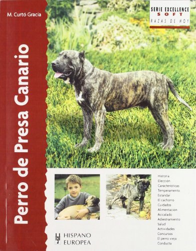 Image of Perro de presa canario / Canary Dogs (Excellence: Razas De Hoy / Excellence: Breed of Today) (Spanish Edition)